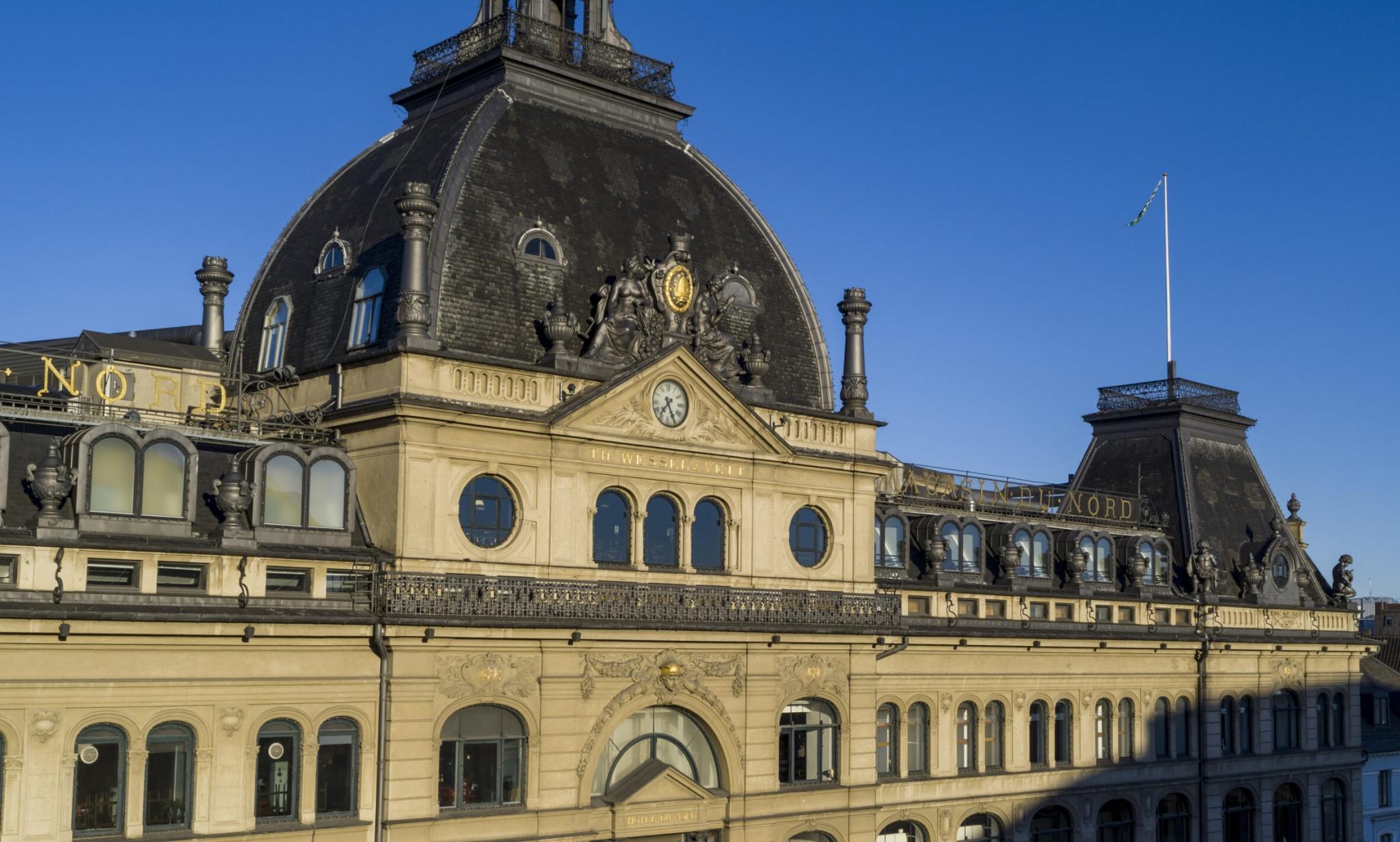 Magasin var inspireret af det parisiske stormagasin Le Bon Marché