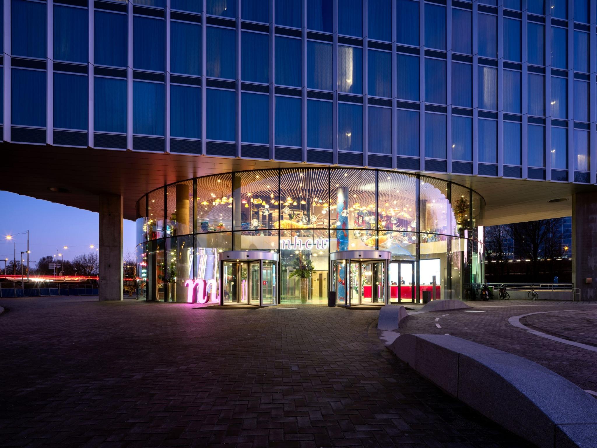 Indgangspartiet til nhow Amsterdam RAI