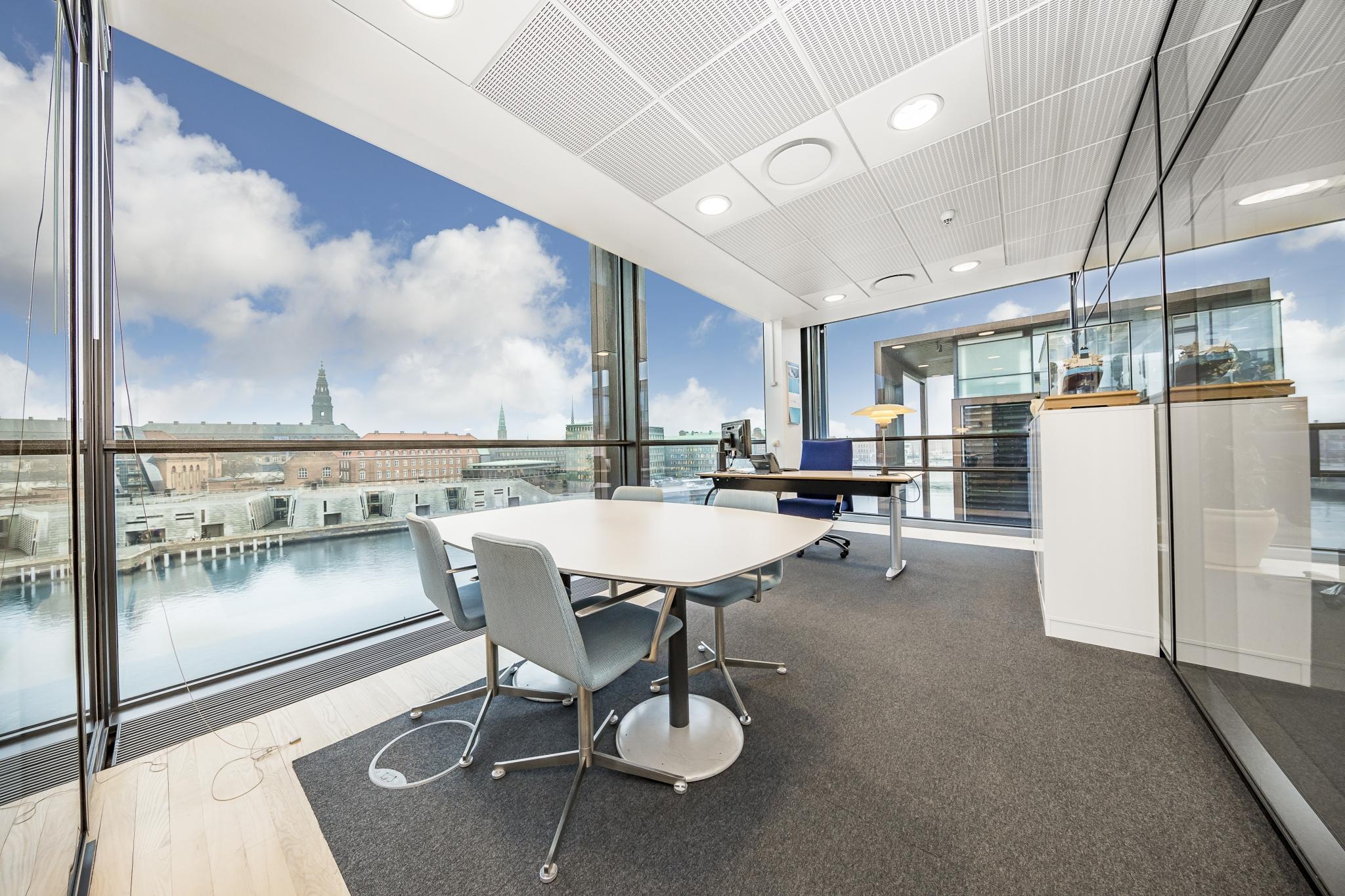 Kontor med udsigt Christianshavn København