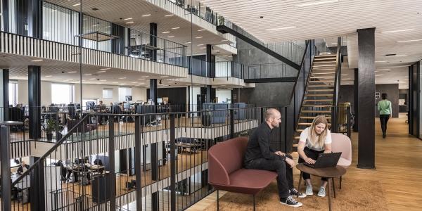 Pier 47 storrumskontor med plads til de små møder