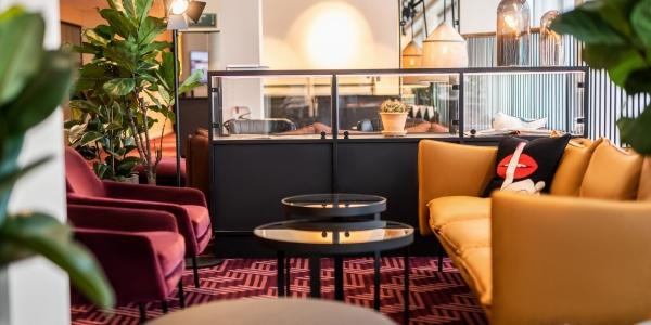 Green Room Restaurant hvor man kan nyde mad