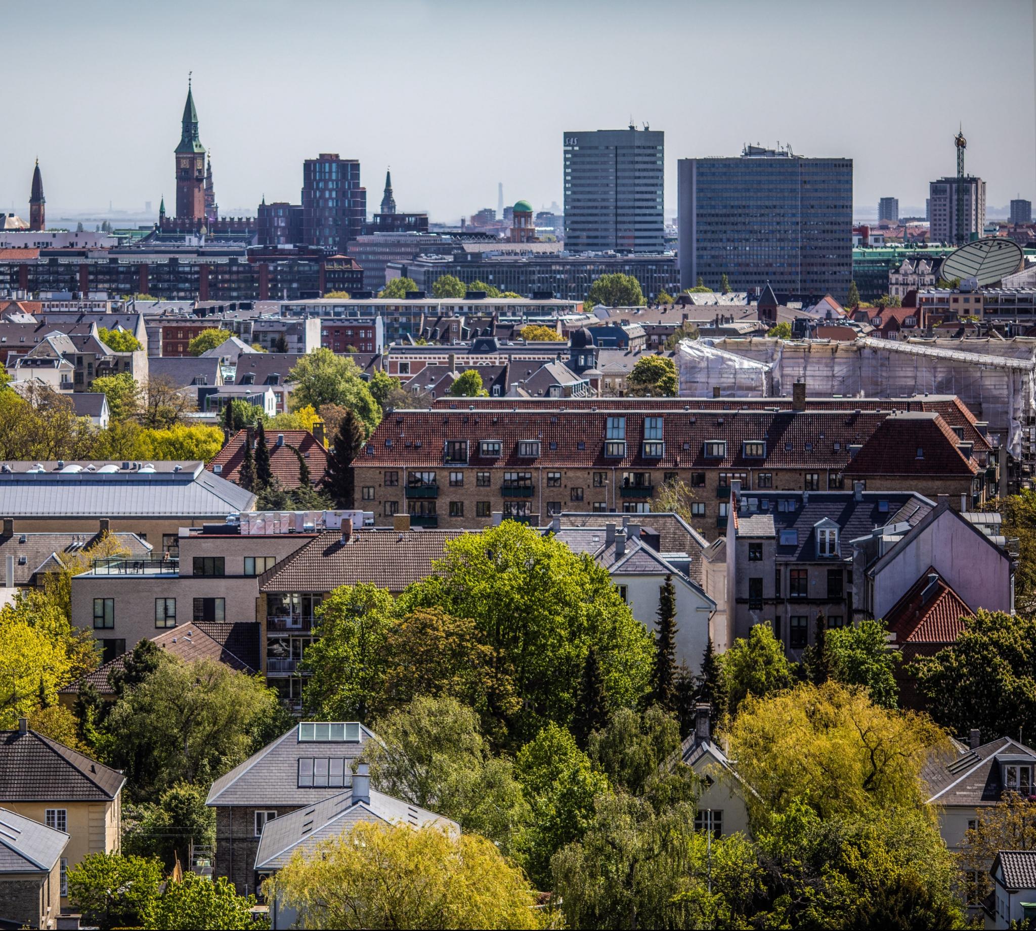 Smuk udsigt over Frederiksberg