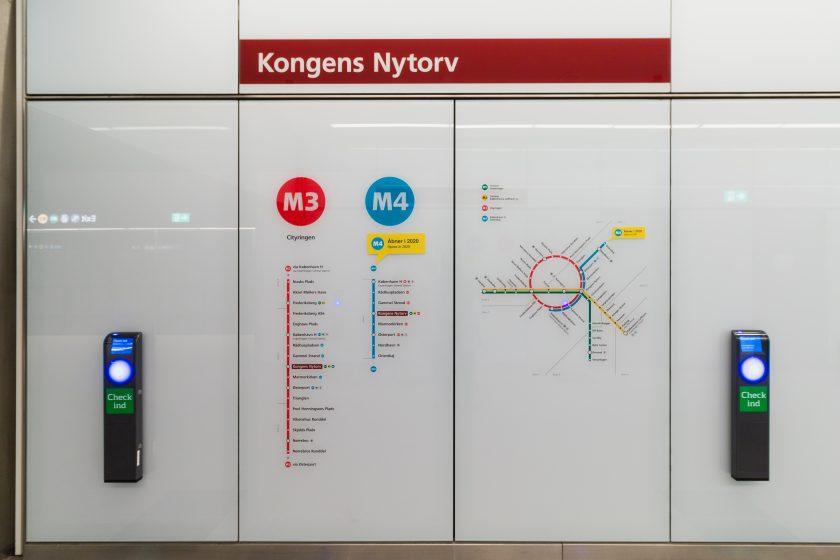 Fra Kongens Nytorvs metro station kan du nå byen rundt
