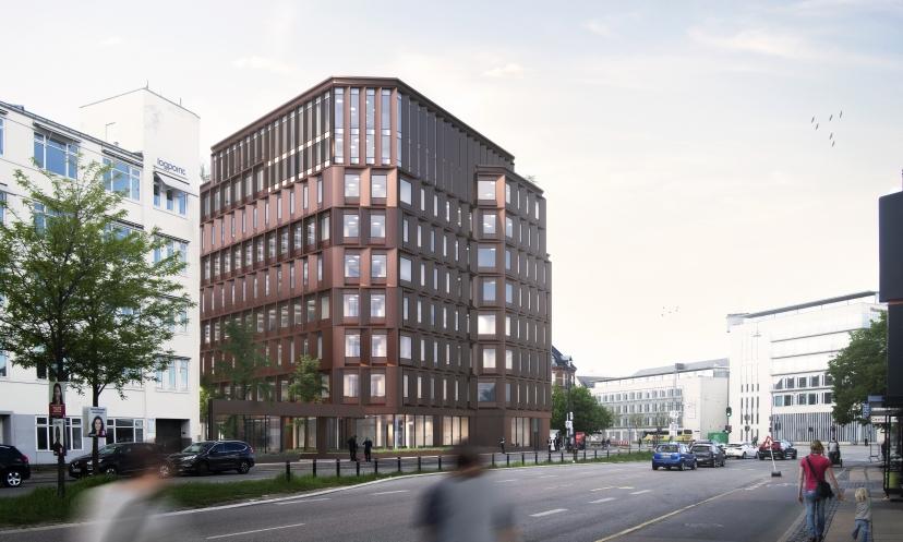 Visualiserng af ny ejendom i København
