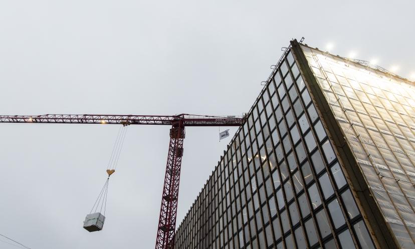 Kran på Strandgade 7 i København