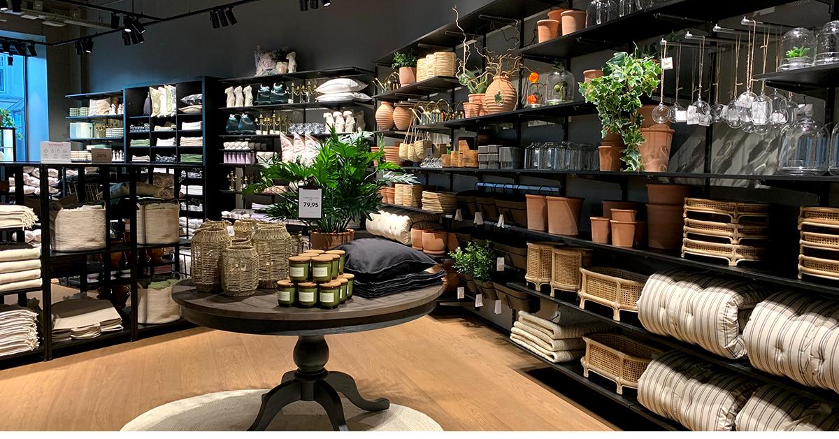Den nye HM butik i Aarhus
