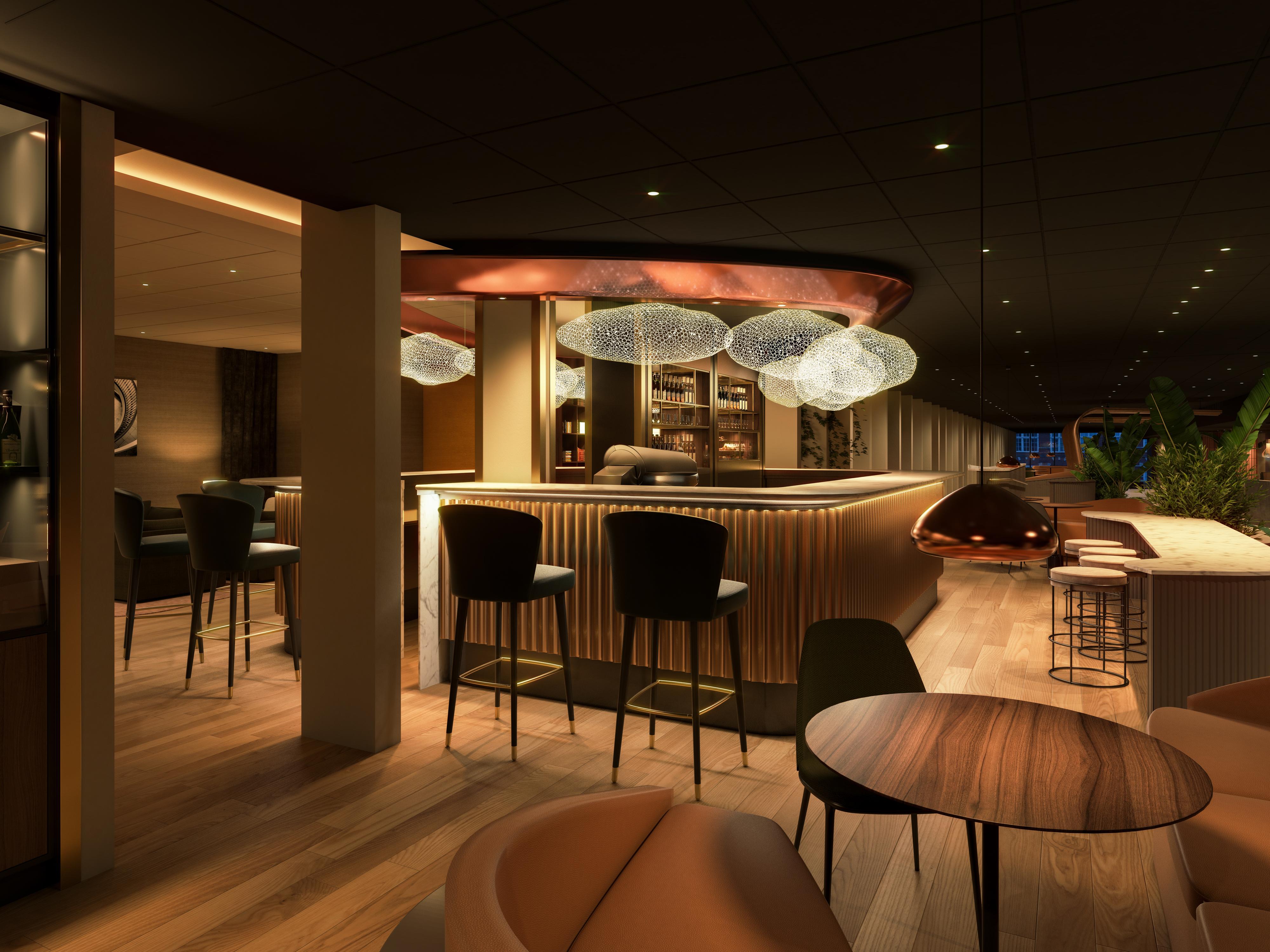 Visualisering af Hotel NH Collection Copenhagen på Strandgade 7