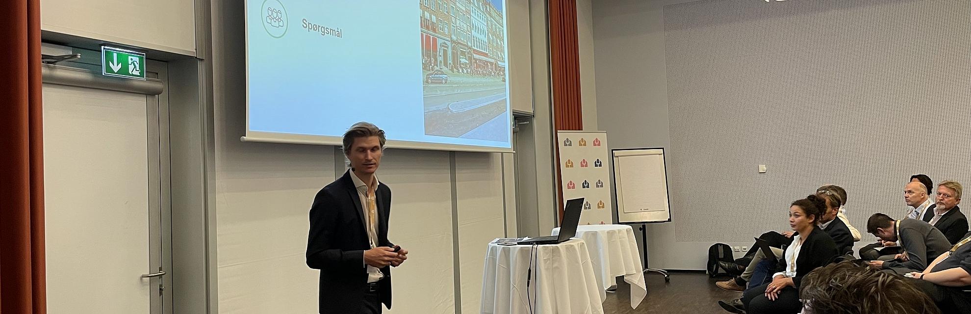Peter til Dansk Facilities Managements årskonference
